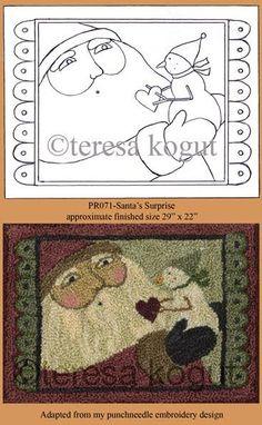 Teresa Kogut. Loved her fabric. Love her rug designs.