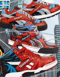 Marvel Licensed Kids Spider-Man Footwear for Reebok. 73df4a2eb