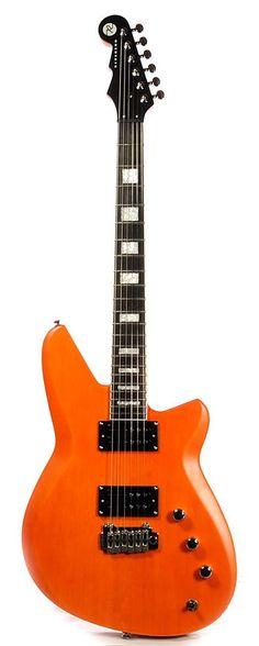 REVEREND Bayonet W Satin Rock Orange   Chicago Music Exchange