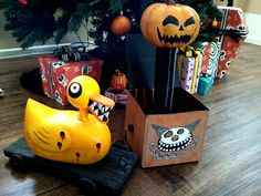 DIY Nightmare Before Christmas Halloween Props: New Tutorials Coming Soon...