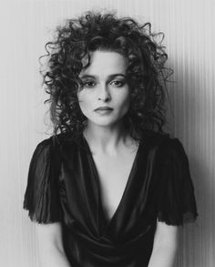 Helena Bonham Carter. Strange but beautiful
