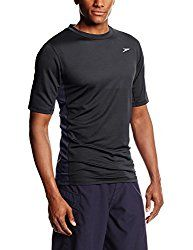 Speedo Men's Longview Short Sleeve Swim Tee - Black/Black X-Large Lace Sweatshirt, T Shirt, Rash Guard Swimwear, Diving Suit, Mens Sweatshirts, Long Sleeve Tees, Swimming, Sleeves, Mens Tops
