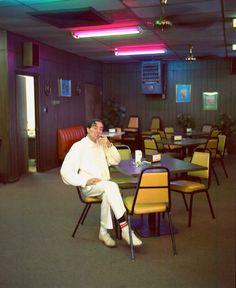 William Eggleston smoking 1990