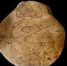 Ancient art from Mexico with pictures of UFO's & aliens. Fascinating! :)