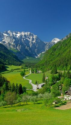 The Logar Valley Landscape Park is a place of peace and harmony, a place where man is at one with nature.