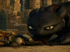 How to train your dragon- because toothless looks a lot like my Shar pei ;)