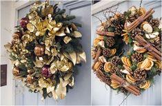 Christmas Door Wreaths by Wild at Heart