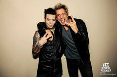 aidan-wta: Dj ASHBA & James Michael Paris - Photo by Michela Cuccagna Sixx Am, Paris Photos, Music Artists, Rock Bands, Good Music, Things To Think About, Dj, People, Life