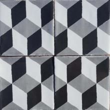 Our handmade encaustic tiles are designed in the UK and hand poured in southern Spain by a family of fourth generation artisan tilers. Whether plain or patterned, each cement tile is meticulously crafted with crushed marble included as part of the mix to strengthen it and create a beautiful, raw finish. All of our handmade tiles come with a 7 week lead time, and can be created in custom Bert & May colourways.