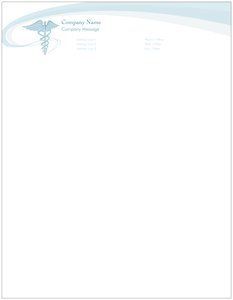 Medical Letterhead Templates  Health  Social Services  Papier