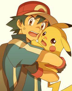 Sasha et Pikachu Ash Pokemon, Pokemon Ash Ketchum, Pokemon People, Pokemon Memes, Pokemon Fan Art, Pikachu Raichu, Pikachu Art, Pokemon Eeveelutions, Cute Pikachu