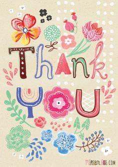 Thank You - Miriam Bos