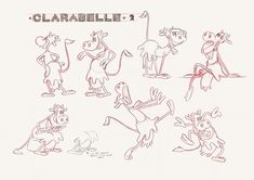 Walt Disney Animation Studios — To create new model sheets for each of the...