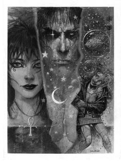My all time favourite comic - The Sandman - Death, Dream, & Delirium by Eddy Newell