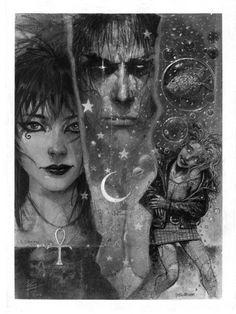 Death, Dream, & Delirium by Eddy Newell