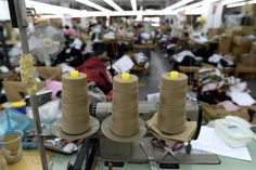 The High Production factory in the garment district. Photo: Timothy A…