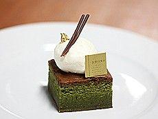 抹茶のガトーショコラ    460円    ★ 定番ケーキ