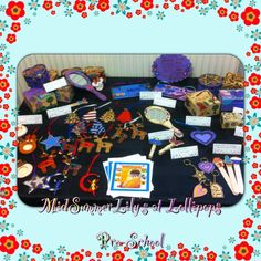 My stall at my daughters pre-school after my first few sales!!