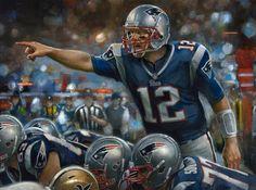 """Field General"" Tom Brady by Brian Fox"