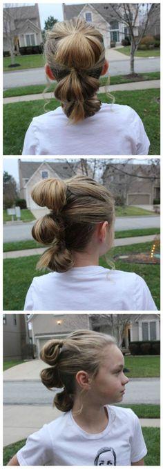 Penteados para meninas inspirados em filmes