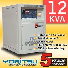 Stabilizer Yoritsu TDi-12 kapasitas 12 KVA.  http:// hexta.co.id, email : sales@hexta.co.id, Telp : (021) 2925-5900, 2925-5905 (Huntings)