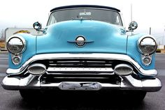 1953 Oldsmobile Super 88 Convertible: Front View