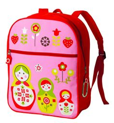Ore Zippee! Back Pack Matryoshka Doll  http://www.lbcliving.com/new/back-to-school/ore-zippee-back-pack-matryoshka-doll.html#
