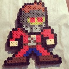 Star Lord - Guardians of the Galaxy hama beads by zonbicaek