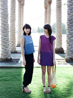 Weekend Lovers + Mixed Business LA Photo by Lani Trock Kristine Claghorn (claggie) + Melanie Ayer (skinnybmel)
