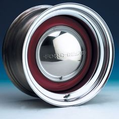 SOLID SERIES WHEEL (CHROME OUTER/BARE CENTER)