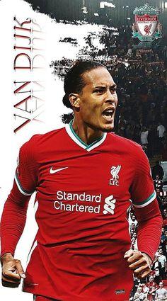 Virgil Van Dijk, Soccer Pictures, Liverpool Fc, Soccer Players, Football, Baseball Cards, Sports, Mens Tops, Album