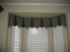 gray window valance rod pocket jenny country ruffled shaped valance window curtain pinterest window treatments and curtains