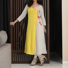 designs for fabric painting on kurtis - Google Search