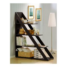 Ladder Bookshelf - love this