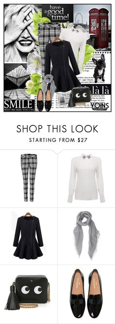 """""""Yoins I/10"""" by andrejae ❤ liked on Polyvore featuring мода, Faliero Sarti, Anya Hindmarch, Camp и yoins"""