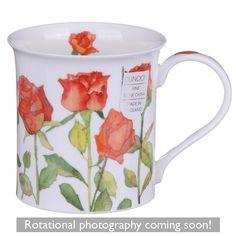 Flowers - Roses Bute shape Mug Rose Bouquet, Black Coffee, Tea Mugs, Roses, Shapes, Ceramics, Cups, Tableware, Flowers
