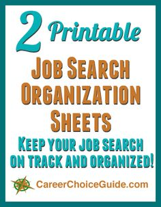 Free printable job search log to track each resume you submit to an employer.