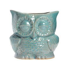 Owl Planter Small Robins Egg, $27, now featured on Fab.