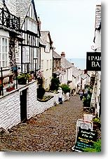 Clovelly's one street is probably both the steepest and most famous street in the county of Devon.