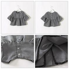 572e414629b New Arrival Kids Girls T Shirts Plaid Design Cute Ruffles Tops Stylish  Loose Blouse Western Fashion Sweet Kid Girls Shirts from Smartmart