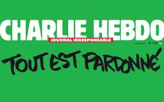 """Satirical magazine shows it hasn't lost its appetite for trouble with cartoon   of Islam's holiest prophet carrying """"Je Suis Charlie"""" sign #jesuischarlie"""