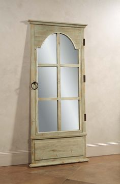 French Door Leaner Mirror - Tarragon at Plum28 - How perfect is this?! #PlumPerfect - KGonyea