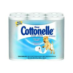 I'm learning all about Kimberly-Clark KLEENEX COTTONELLE Soft 1-Ply Bathroom Tissue at @Influenster!