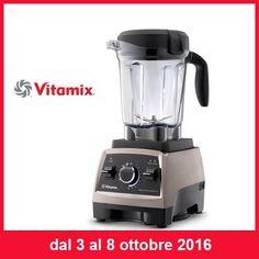 """IMPERDIBILE PROMOZIONE  Nella settimana dal 3 Ottobre all' 8 Ottobre trovi il fantastico """"Vitamix Power Blender"""" in promo  #villamontesiro #fratelli_villamontesiro #villa_casalinghi #ul_piatè_de_munt  http://www.cucinaincasa.com/novita/promozioni/sconti/vitamix-power-blender-promozione"""