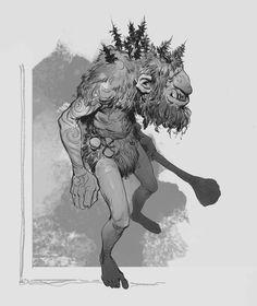 Art by Even Mehl Amundsen* Creature Concept Art, Creature Design, Fantasy Creatures, Mythical Creatures, Fantasy Character Design, Character Art, Grimgar, Monster Design, Fantasy Inspiration