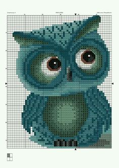 Thrilling Designing Your Own Cross Stitch Embroidery Patterns Ideas. Exhilarating Designing Your Own Cross Stitch Embroidery Patterns Ideas. Cross Stitch Owl, Cross Stitch Animals, Cross Stitch Charts, Cross Stitch Designs, Cross Stitching, Cross Stitch Embroidery, Embroidery Patterns, Cross Stitch Patterns, Owl Embroidery