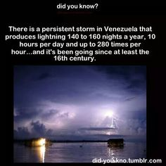 """""""There is a persistent storm in Venezuala...."""""""