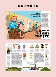 Magazine Page Layouts, Magazine Layout Design, Book Design Layout, Graphic Design Layouts, Print Layout, Album Design, Newsletter Design Templates, Presentation Layout, Magazines For Kids