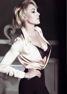 "bohemea: "" Kate Winslet - Bazaar UK by Tom Munro, November 2011 """