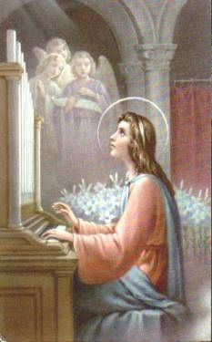 Saint Cecilia; Virgin and Martyr - Patroness of Music